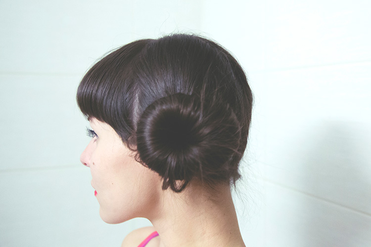 cute hairbun