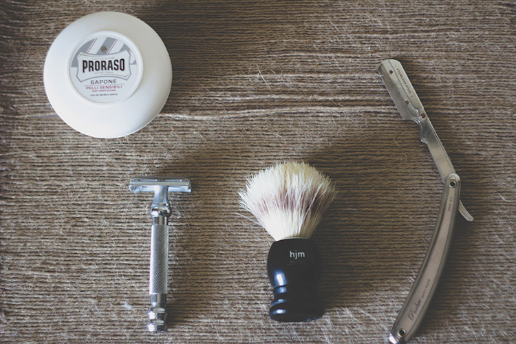 old school shaving gear